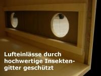 Biltong Box Lufteinlass
